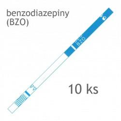 test na drogy - SureScreen - BZO Test Strip – testovací proužek na benzodiazepiny 10ks