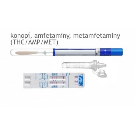 TEST NA DROGY – MAVAND Rapid WIPE S® - 3 drogy (THC/AMP/MET)