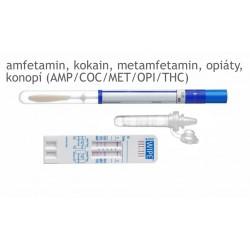 Imagén: test na drogy – MAVAND Rapid WIPE S® - 5 drog (amfetamin/kokain/metamfetamin/opiáty/konopí)