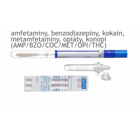 TEST NA DROGY – vysoká citlivost - MAVAND Rapid STAT® - 6 drog (AMP/BZO/COC/MET/OPI/THC)
