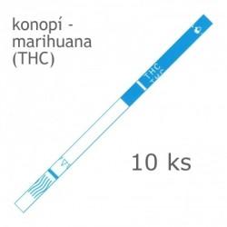 test na drogy - SureScreen - THC50Test Strip – testovací proužek na konopí - cannabis 10 ks